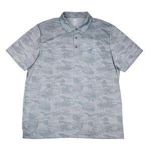 Greg Norman Attack Life 5 Iron Golf Polo Shirt